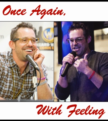 Once Again, With Feeling: Karaoke meet-and-greet with Nicholas Brendon and his twin brother, Kelly Donovan in Philadelphia!