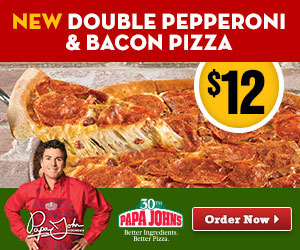 Watch For Papa John's Team Bearing Gifts At Wizard World Louisville Comic Con
