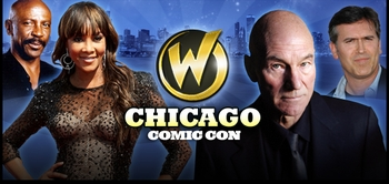 Patrick Stewart, Bruce Campbell, Christopher Lloyd, Morena Baccarin, Felicia Day, James Marsters @ Chicago Comic Con!