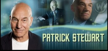 Patrick Stewart, <i>Captain Picard</i>, Coming to Chicago Comic Con!