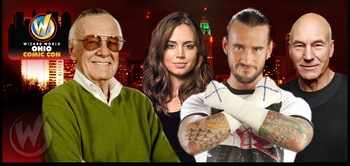 Patrick Stewart, WWE� Superstar CM Punk�, Eliza Dushku Among Stars @ Wizard World Ohio Comic Con, Sept. 28-30
