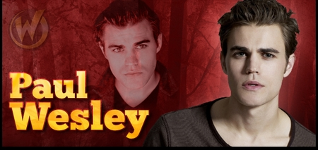 Paul Wesley, <i>Stefan Salvatore</i>, from �The Vampire Diaries� Joins the Wizard World Comic Con Tour!