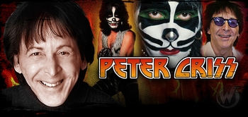 Peter Criss, <i>KISS</i>, ROCK AND ROLL HALL OF FAMER, Coming to Chicago Comic Con!