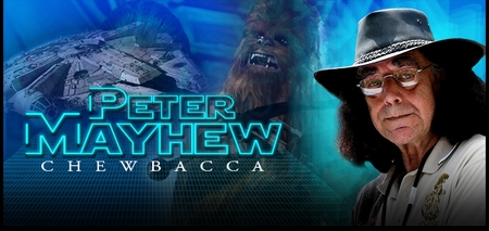 Peter Mayhew, <i>Chewbacca</i>, STAR WARS, Coming to San Antonio Comic Con!