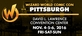 Wizard World Comic Con Pittsburgh 2016 3-Day Weekend Admission November 4-5-6, 2016