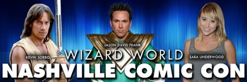 Private Events With Jason David Frank, Kevin Sorbo, Sara Underwood @ Wizard World Nashville Comic Con