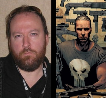 PUNISHER AND HELLBLAZER ARTIST TIM BRADSTREET ELIMINATES THE GUILTY AT THE ANAHEIM COMIC CON!