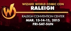 Raleigh Comic Con 2015 Wizard World Convention 1-Day Admission (Friday, Saturday OR Sunday) March 13-14-15, 2015