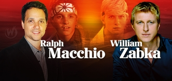 Ralph Macchio & William Zabka, THE KARATE KID, Coming to Sacramento Comic Con!