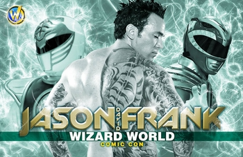 <i>Ranger</i> Wizard World Comic Con Meet & Greet Exclusive Lithograph by �Green Power Ranger� Jason David Frank