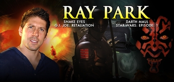 Ray Park, <i>Darth Maul</i>, from STAR WARS EPISODE I, Joins the Wizard World Comic Con Tour!