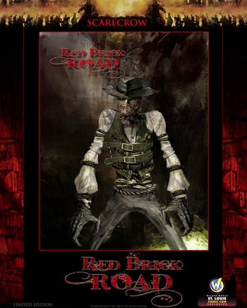 <i>Red Brick Road Scarecrow</i> St. Louis Comic Con Exclusive Poster by Rob Prior