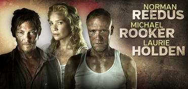 Reedus/Rooker/Holden Platinum VIP Package @ Wizard World Comic Con NYC Experience 2013