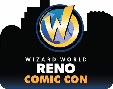 Reno Comic Con 2014 Wizard World Convention 3-Day Weekend Ticket March 7-8-9, 2014