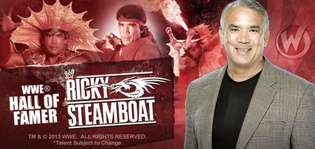 Ricky �The Dragon� Steamboat�, <i>WWE� Hall of Famer</i>, Coming to Fort Lauderdale!