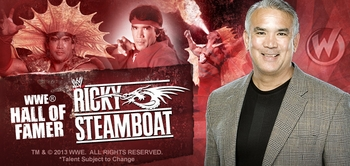 Ricky �The Dragon� Steamboat�, <i>WWE� Hall of Famer</i>, Coming to Chicago Comic Con!