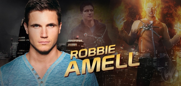 Robbie Amell, <i> Ronnie Raymond/Firestorm </i>, �The Flash,� Coming to Louisville!