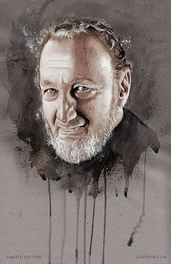 <i>Robert Englund</i> Portland Comic Con Wizard World VIP Exclusive Lithograph by Rob Prior