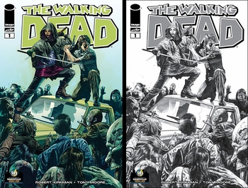 Mico Suayan Variant Cover of Robert Kirkman's The Walking Dead #1 Debuts at Wizard World Portland Comic Con