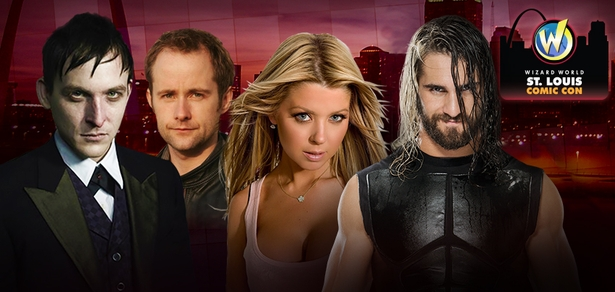 WWE� Superstar Seth Rollins�, Robin Lord Taylor, Liam McIntyre, Cassandra Peterson Among Top Celebrities Scheduled To Attend Wizard World Comic Con St. Louis, May 22-24