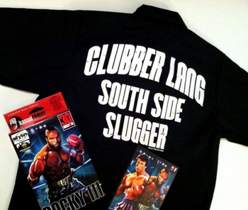 <i>Rocky III: Clubber Lang</i> Philadelphia Comic Con Exclusive T-Shirt by Stylin� Online