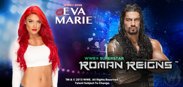 <i>WWE� Superstar Roman Reigns� & Diva Eva Marie�</i> Coming to Nashville!