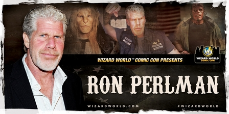 Ron Perlman, HELLBOY & �Sons of Anarchy,� Coming to Richmond Comic Con!