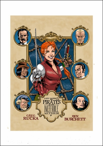 <i>Sabre</i> St. Louis Comic Con Wizard World VIP Exclusive Lithograph by Rick Burchett