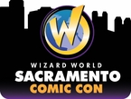 Sacramento Comic Con 2014 Wizard World Convention 1-Day Ticket Sunday, March 9, 2014