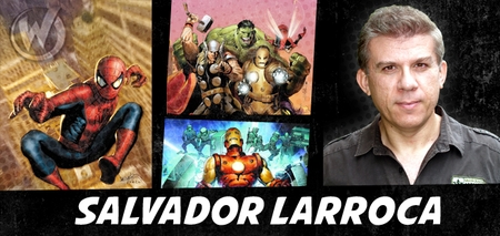 Salvador Larroca, <i>EISNER AWARD WINNER</i>, Coming to Las Vegas Comic Con!