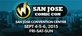 Wizard World Comic Con San Jose 2015 3-Day Weekend Admission September 4-5-6, 2015