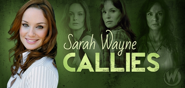 Sarah Wayne Callies, <i>Lori Grimes</i>, �The Walking Dead,� Coming to New Orleans, Portland & Raleigh!