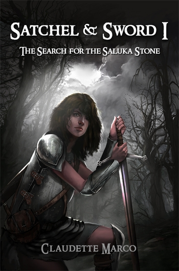 <b><i>Satchel & Sword I: The Search for the Saluka Stone</i> New Orleans Comic Con Exclusive Novel by Claudette Marco</b>
