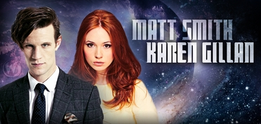 SATURDAY � DOCTOR WHO � Matt Smith & Karen Gillan DUAL Panel @ Philadelphia Comic Con 2014