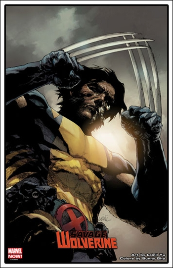 <i>Savage Wolverine</i> Exclusive Lithograph by Leinil Yu