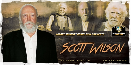 Scott Wilson, <i>Hershel Greene</i>, �The Walking Dead,� Coming to New Orleans, Portland and Madison!