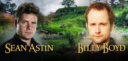 Sean Astin & Billy Boyd, THE LORD OF THE RINGS, Coming to