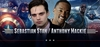 Sebastian Stan <i>Winter Soldier/Bucky Barnes</i> & Anthony Mackie, <i>Sam Wilson/The Falcon</i>, CAPTAIN AMERICA, Coming to Philadelphia Comic Con!