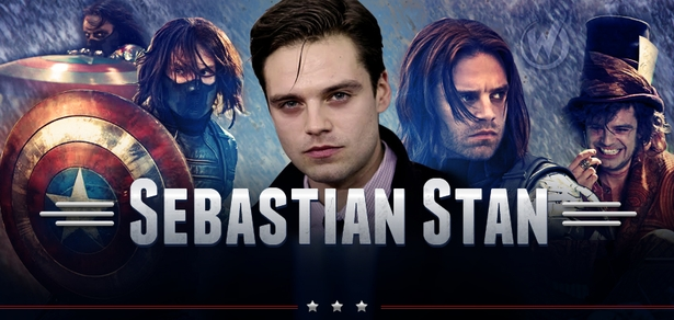 Sebastian Stan, <i>Winter Soldier/Bucky Barnes</i>, CAPTAIN AMERICA, Coming to Chicago Comic Con!