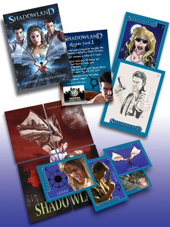 <i>Shadowland</i> Collector�s Cards Chicago Comic Con Exclusive