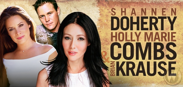 Shannen Doherty, Holly Marie Combs & Brian Krause, <i>Prue Halliwell, Piper Halliwell & Leo Wyatt</i> from �Charmed,� Coming to New Orleans 2015!