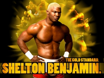 Shelton Benjamin <br>�The Gold Standard�