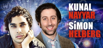 Simon Helberg & Kunal Nayyar, <i>Howard Wolowitz & Raj Koothrappali</i>, �The Big Bang Theory,� Coming to Chicago Comic Con!
