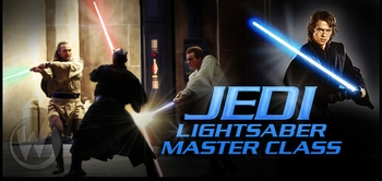 Sith Sense: Light Saber Master Class @ Wizard World Comic Con!