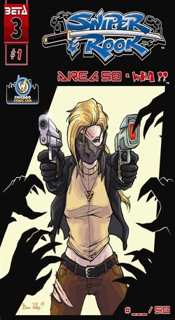 Sniper and Rook: Area 50-WHA?? Issue 1, Chicago Comic Con Exclusive Cover