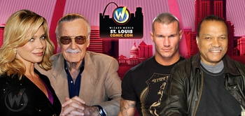 Stan Lee, Dean Cain, Billy Dee Williams, WWE� Superstar Randy Orton� Among Celebrity Guests @ Wizard World St. Louis Comic Con, March 22-23-24, 2013