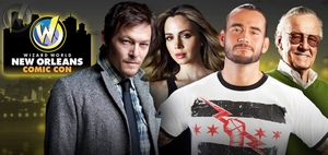 Stan Lee, Eliza Dushku, Michael Madsen, WWE� Superstar CM Punk� Lead Wizard World New Orleans Comic Con Celebrity Roster, Nov. 30 - Dec. 2