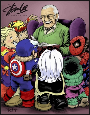 <i>Stan Lee Foundation</i> Exclusive Lithograph by Jerry Bennett