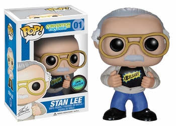 <b><i>Stan Lee Funko Pop!</b></i> Comic Con Exclusive Vinyl Figure