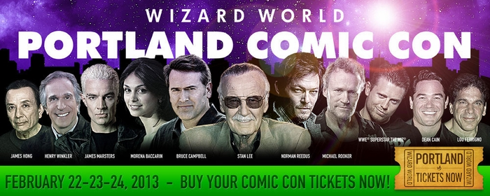 Stan Lee, Henry Winkler, Bruce Campbell, Morena Baccarin, WWE� Superstar The Miz� Highlight 2013 Wizard World Portland Comic Con!